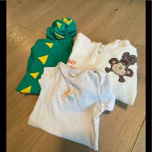 Baby 3 pack including a dragon costume!
